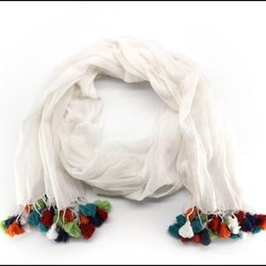 Curator's Collection: Tassel Scarf